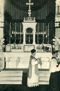 The Priest Returns to the Sacristy